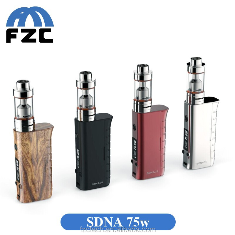 SDNA75W EVOLV DNA CHIP pipes smoking wooden vaporizers wholesale made in china