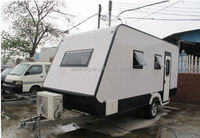 2014 promotion price RV trailer , caravan motor home