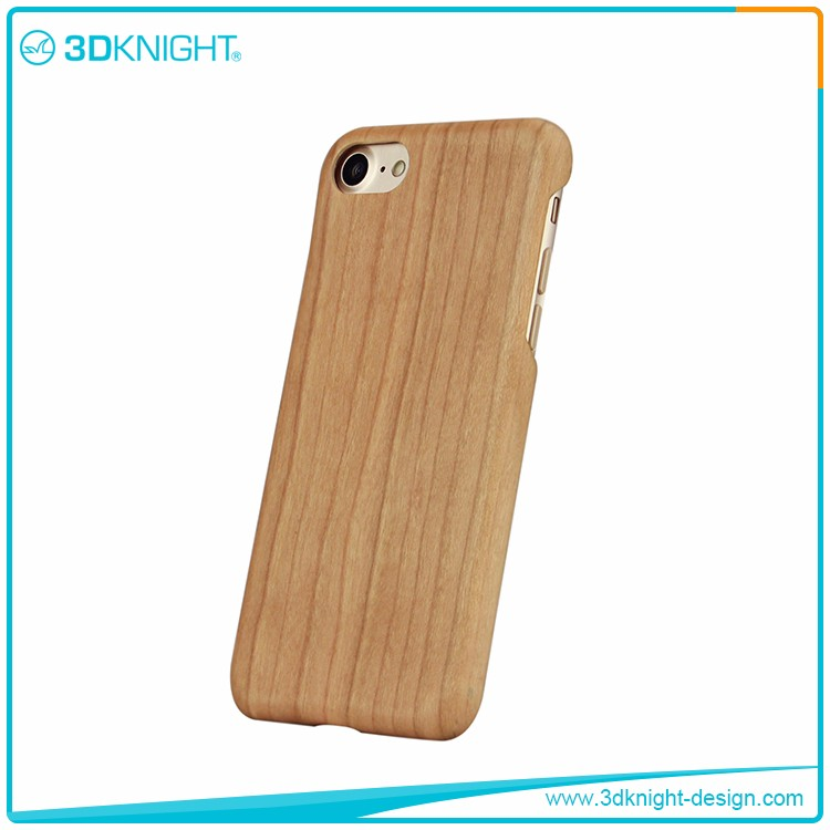 Super Luxury Genuine Wooden Cases for iphone 7 /Blank Wood Case for iphone 7 7 plus