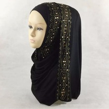 high quality hot sale various color cotton jersey hijab women scarf