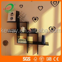 Latest Design Wooden Wall Cube Shelf Wholesale