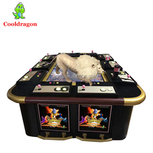 8 10 Play Fish Game Machine Lion Strike Casino Game Machine Arcade Machine for Amusement Park