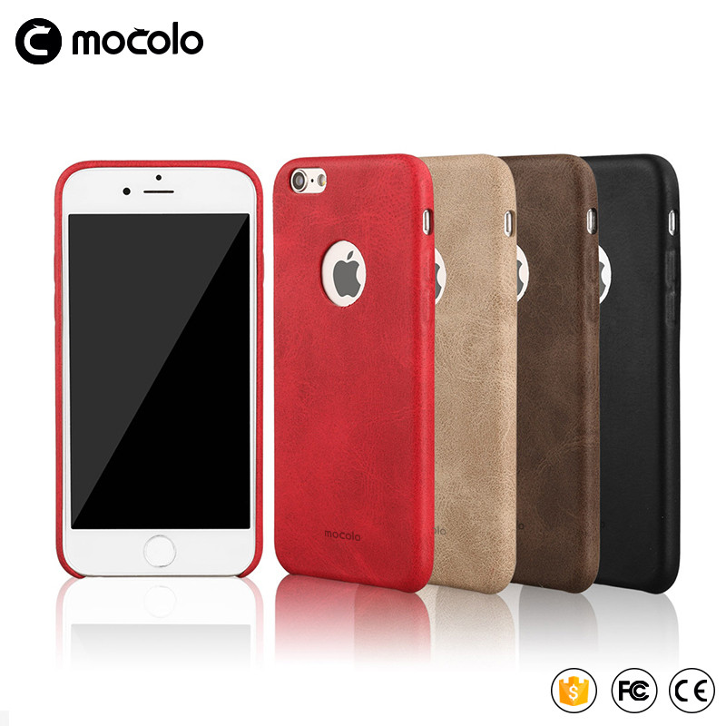 Mocolo 2017 New Hot Sale Cellphone Back Cover Cheap Phone Accessories Mobile Leather Pu Case For Iphone8 7/7Plus