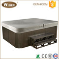 7 People New Luxury outdoor whirlpools massage Whirlpool spa bath for hotel