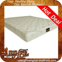 Angola single bed hot sale spring mattress