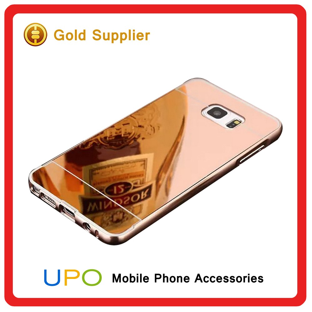 [UPO] Luxury Aluminum Mirror Metal Mobile Phone Cases Cover for Samsung Galaxy Note 2 3 4 5