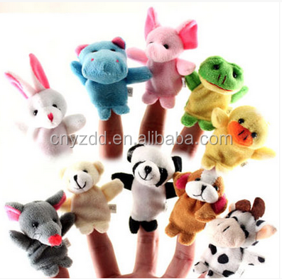 Mini Plush Finger Puppets Toys / Plush Mini Finger Toy / Mini Stuffed Finger Toy