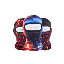 2017 new design face mask beanie hat winter outdoor riding fashion flame Balaclavas mask hat