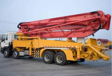 Used 48m concrete pump truck for sale