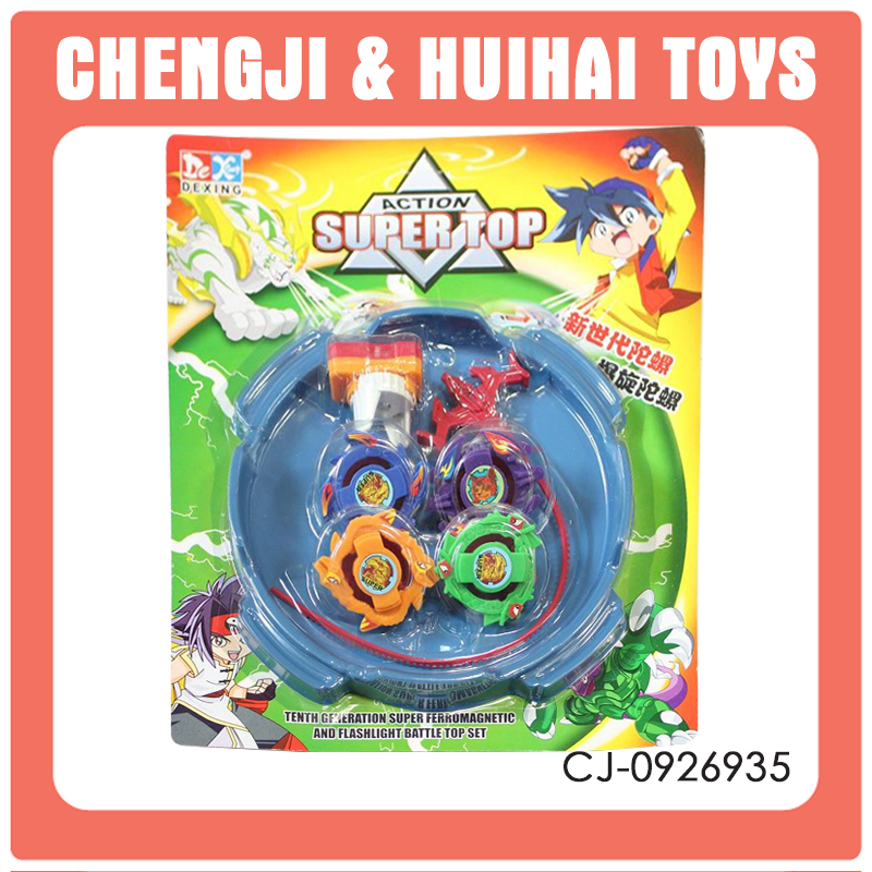 2016 Hot popular Product Safety 4pcs wholesale beyblade