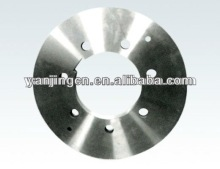 Steel slitting blades for cutting silicon steel plate