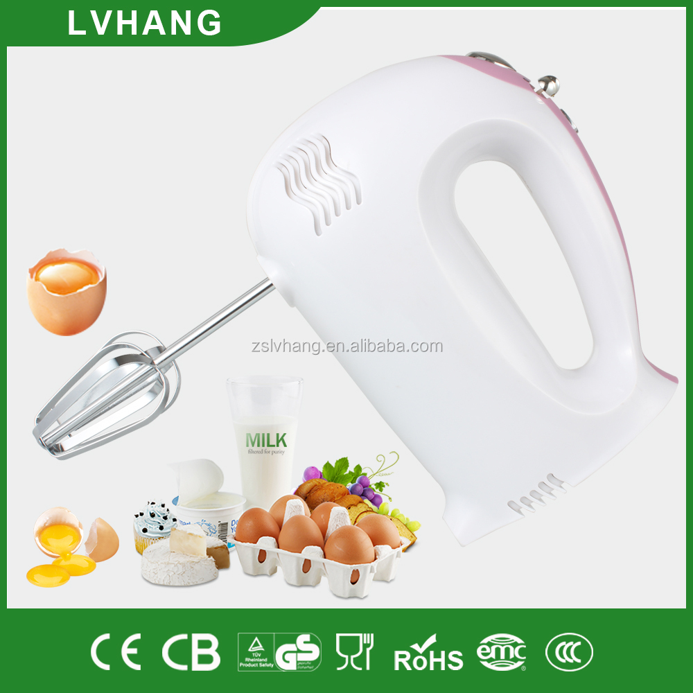 200W electric handheld cake mixer with turbo CE ROHS