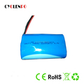 18650 3.7V lithium battery pack 2P 4400mAh li-ion battery pack for electronics