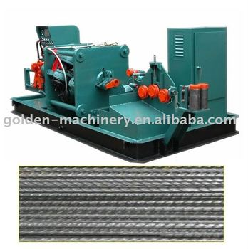 Ribbed steel wire machine