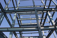 Structure steel fabrication workshop warehouse steel frame space frame steel structure manufacture