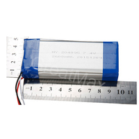 204095 7.4v 2600mAh Lipo Battery Pack for Mobile Phone