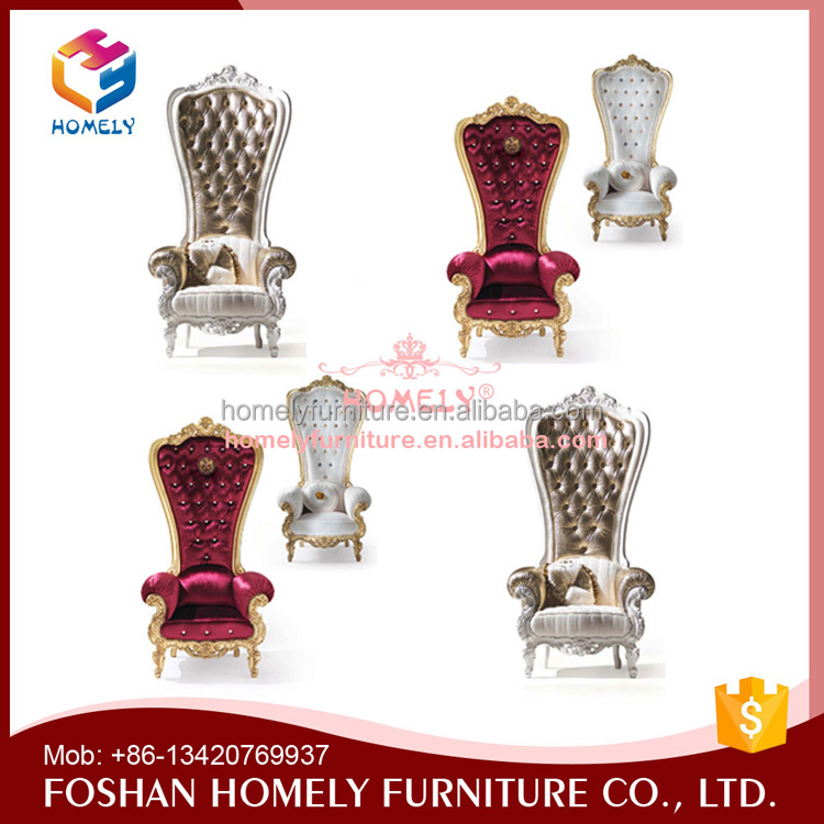 Factory Price Wedding Queen King Chair Wholesale  Foshan Homely Furniture. List Manufacturers of Wholesale King Queen Chairs  Buy Wholesale