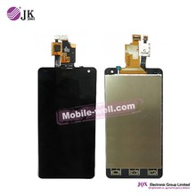 [JQX] Cell Phone Lcd For LG E975 lcd display with touch screen digitizer
