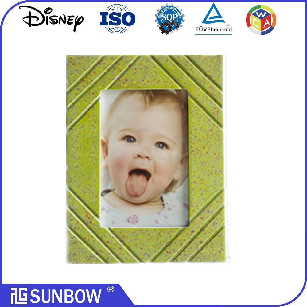 Wholesale Top Quality wood or wooden lovely baby frame mdf board photo Frames picture frame in zhejiang jinhua