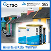 Water Based exterior house paint color wall paint