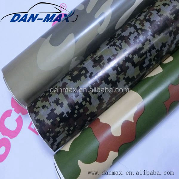 Hot sale army green self-adhesive digital camouflage vynil wrap