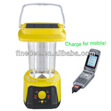 A60-02 Radio Solar Camping Lantern with Cell Phone Charger