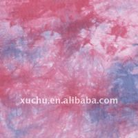fashion fabric 100% rayon tie dye fabric
