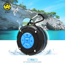 High quality suction cup bluetooth speaker water proof outdoor wireless handsfree shower speaker with sucker