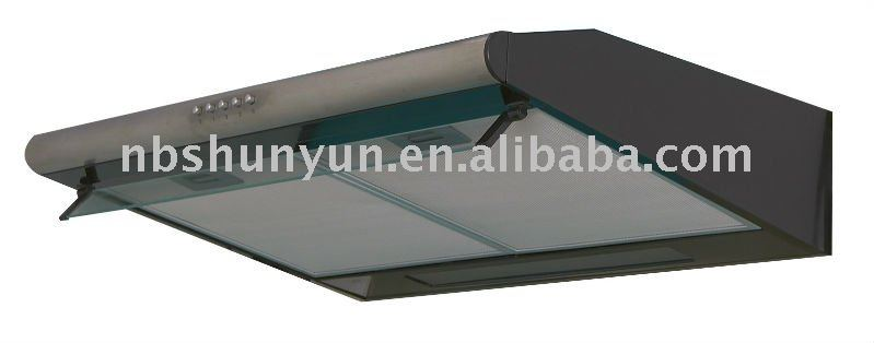 60mm charcoal filter slim cooker hood