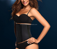 Cheap Price 9 Steel Boned 3 Hooks Ladies Corset Waist Trainers shapewear slimming corset