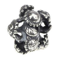 Wholesale 925 Sterling Silver Charm Jewelry Cluster of Sunflowers Bead For European Bracelet