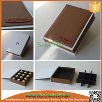 high quality custom make divided cardboard boxes