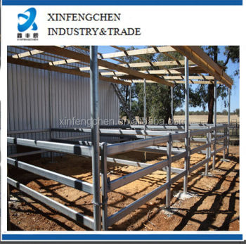 Hot dipped galvanized stable yard panels