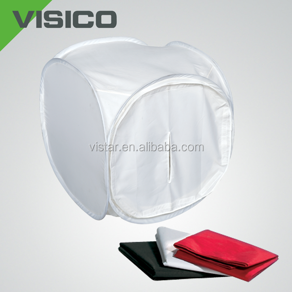 Hot sale photo studio light folding mini photo studio rounded light tent shooting tent