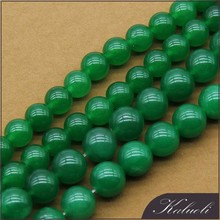 Bulk sale 12mm round malaysian jade stone green natural