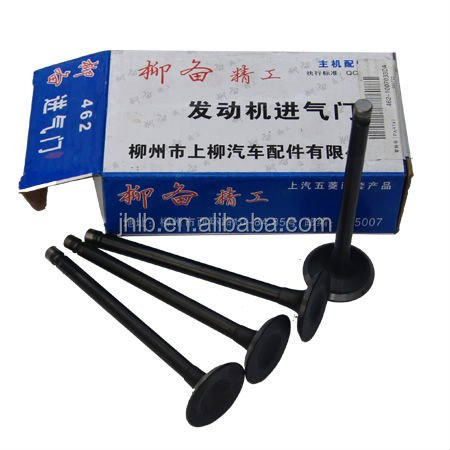 INTAKE VALVE FOR CARS AND TRUCKS AUTO PARTS CHINESE CARS N200 N300 HAFEI CHERY GEELY GREAT WALL DFM DFSK