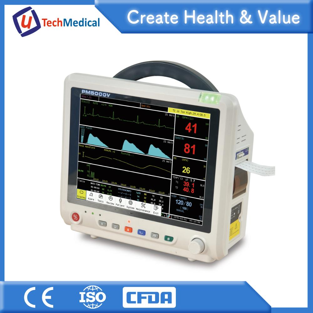 Veterinary Equipment: PM5000V Multi Parameter Veterinary Patient Moniter