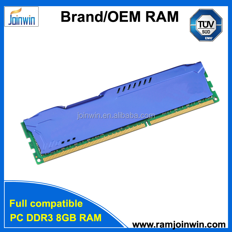 Computer part with heat sink long dimm ddr3 ram 8gb