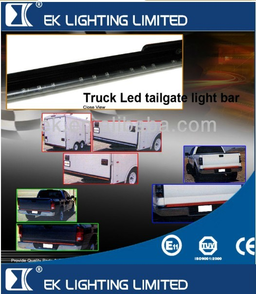 "15years manufacturer directly/ 2013 new artwork/ 2nd Generation 49""/60"" Truck LED Tailgate Light Bar"