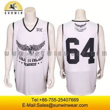 Best quality basketball uniform sample basketball jersey custom basketball tops
