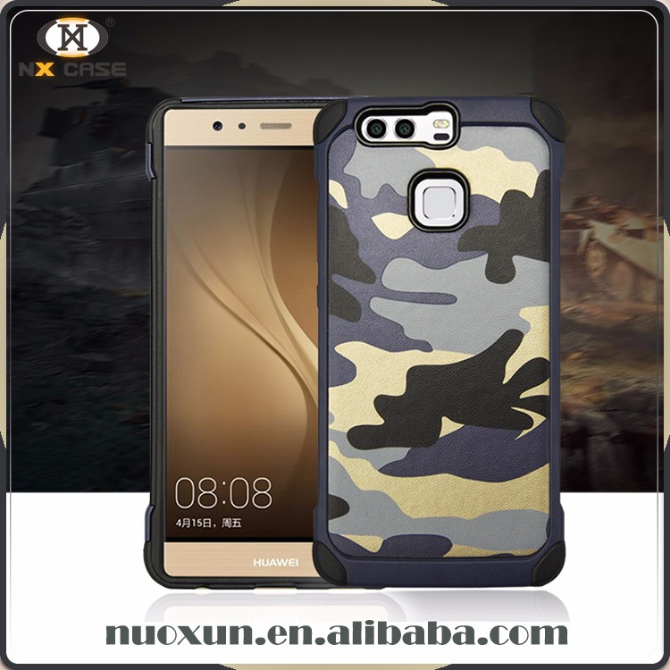 Experienced manufacturer camouflage design case for huawei p9 cover,for huawei p9 case