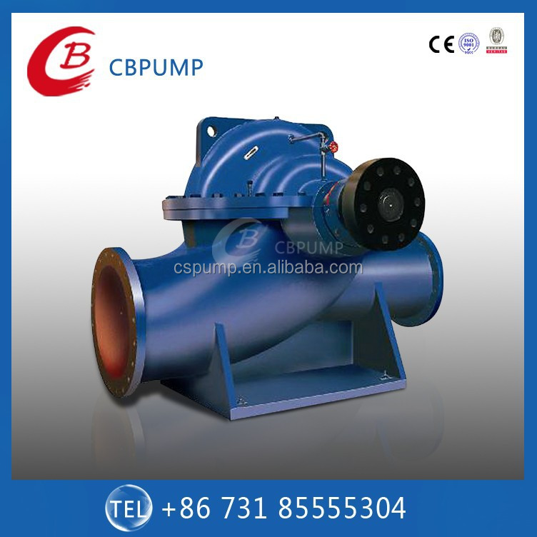 SAP Big Capacity Double Suction Horizontal Split Case Centrifugal Water Pump