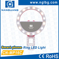NanGuang CN-MP16C Bi color smartphone LED Ring light ring eyelight LED selfie ring light ring fill light