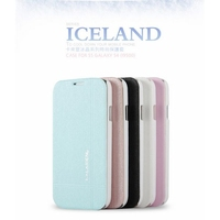 KLD Iceland Series Slim Fashion Folio Leather Case for Samsung Galaxy S4