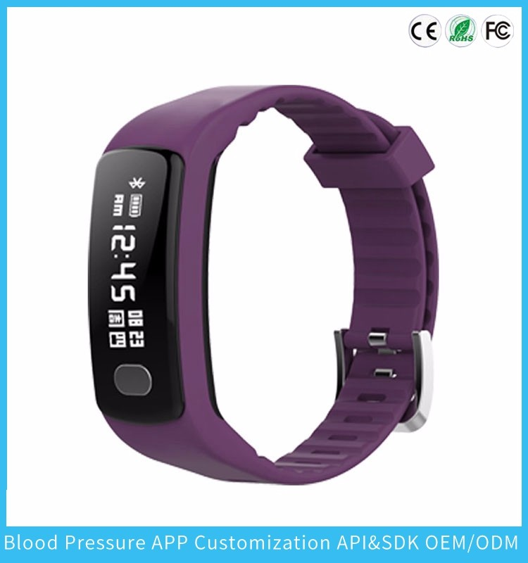Smart Band Blood Pressure Monitor Pulse Meter Heart Rate Wristband Fitness Tracker Smartband Sport Bracelet ECG+PPG