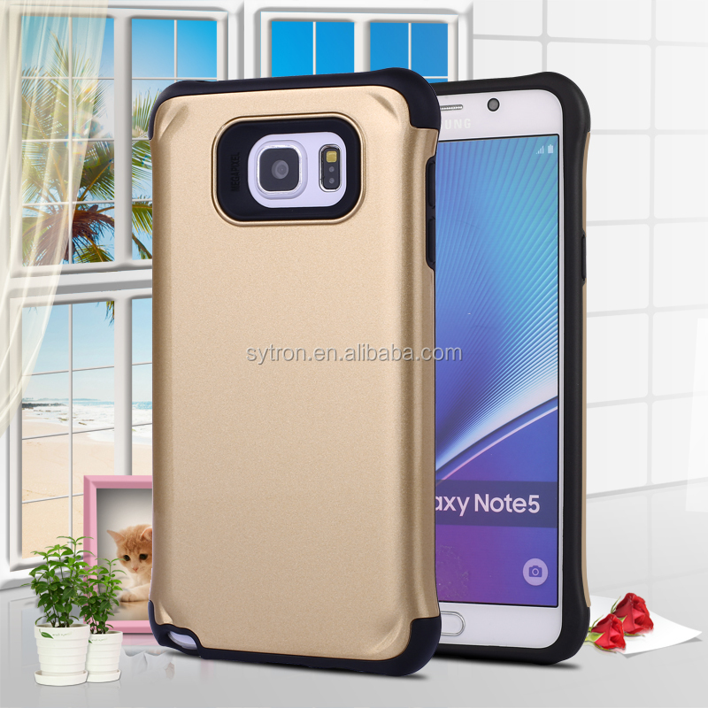 Phone accessories case for Samsung Galaxy Note 5 armor case from Guangzhou manufactory