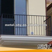Wrought Iron Railings,Outdoor Metal Stair Railing for Home