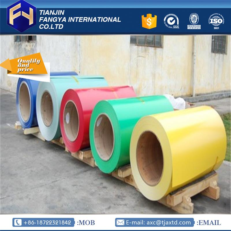 Multifunctional stocked prepainted steel coil hot sales ppgi steel coils to iran with high quality