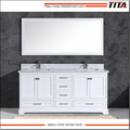 Popular American Style white lacquer bathroom vanity T9311-72W