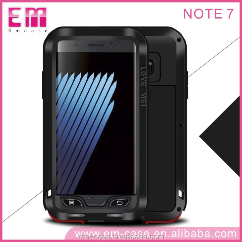 LOVE mei Anti-Shock Armor Mobile Phone Case for Samsung note7